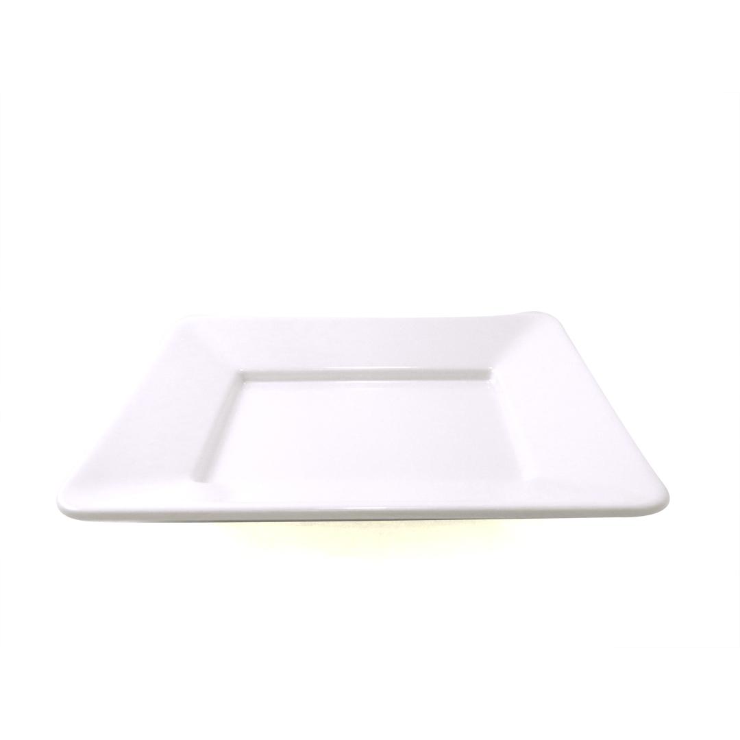 assiette rectangulaire blanche 10 x 12 le magasin. Black Bedroom Furniture Sets. Home Design Ideas