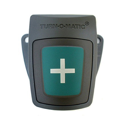Bouton Turn-O-Matic carré (+)